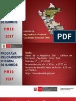 Presentación PMIB 2017