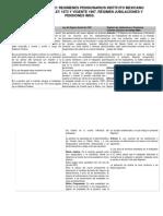Cuadro Comparativo Ley Del Seguro Social de 1973 y 1997