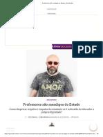Professores São Mendigos Do Estado _ GaúchaZH