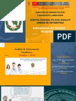 Indicadores Estadisticos SANIDAD PNP CHICLAYO
