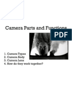 camera parts & functions; shutter speed and aperture