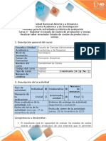 Guía de Actividades y Rubrica de La Evaluación - Tarea 4 - Elaborar El Estado de Costos de Producción y Ventas