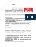 Manual de Politicas Coca-cola