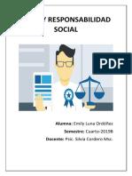 Ética y Responsabilidad Social Deber 1