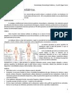 Clase 7 - Dermatología Pediátrica