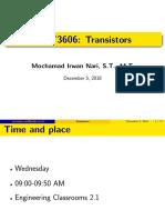 [MOT3606] 12 Transistor