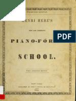 Piano-Forte School - Henri Herz's