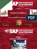 Semana 6- Direccion Administrativa-Derecho 2019-2b