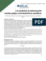 Medicion con galgas extensiometricas