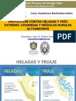 PROTECCIÓN CONTRA HELADAS Y FRÍO  EXTREMO