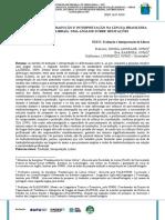 DIFERENÇAS ENTRE TRADUÇÃO E INTERPRETAÇÃO NA LÍNGUA BRASILEIRA DE SINAIS (LIBRAS) - UMA ANÁLISE SOBRE HESITAÇÕES.pdf