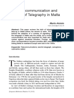 Early Telecommunication and the Birth of Telegraphy in Malta.pdf