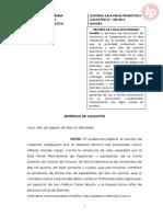 Casacion-158-2016-Sin Preencia Del Fiscal en Dilgencias Es Nulo