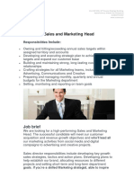 Job Description Sales and Marketing Head.docx