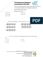 2018 Pre-NE Grade03 Exam EngVersionPrint