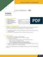T2 Método Numérico