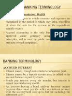 terminologies banking