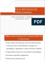 PORTEFÓLIO REFLEXIVO DE APRENDIZAGENS