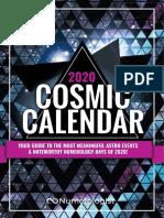 2020 Cosmic Calendar