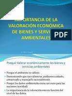 7. Importancia de La Valoración Económica de Bienes y Serv