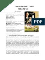 Lección de Honor - Video Forum