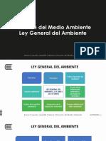 Presentación 6. Ley General Del Ambiente (1)