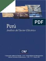 PERU Analisis Del Sector Electrico