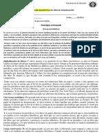 Evaluación 3ro Diagnóstica Del Área de Comunicación - Revisado