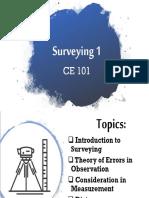 Ce101 Lecture 1-3