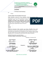 Surat izin perkuliahan