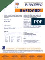 1. Rapidard (Data Sheets)