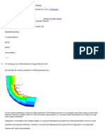 Verifying Your Finite Element Analysis Results