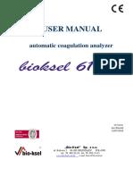 User Manual Bioksel 6100