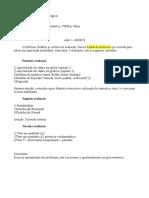 Anotações de aula inicial da disciplina de Bioestatística