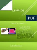 Ejemplos y Propuesta (1)