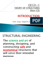 1 Ce131-1 Introduction to Structural Analysis