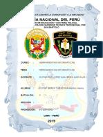 Escuela de Educación Superior Técnico Profesional Pnp Integridad San Bartolo Compendio i