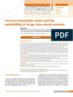 Ferritic-Austenitic Steel and Its Weldab-2