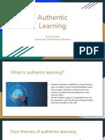 authentic learning edu 201