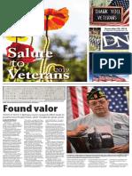Salute to Veterans (November 2019)