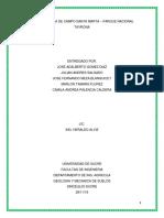 Informe Salida de Campo Santa Marta – Parque Nacional Tayrona