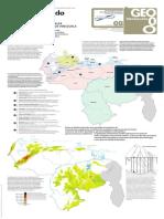 Mapa de las unidades naturales de la República Bolivariana de Venezuela
