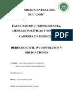 Obligaciones a Plazo Quinto d Carlos López y Alexander Pin