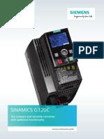 Siemens 6SL32101KE123UF2 Datasheet
