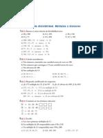 Matematicas Resueltos (Soluciones) Divisibilidad 1º ESO 2ª Parte