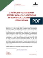 Bataille. La animalidad y lo sagrado.pdf