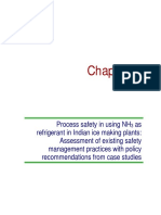 Process safety in using NH3 as refrigerant in Indian ice making plants