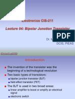4. Bipolar Junction Transsistor