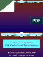 Ancient Metaphysics