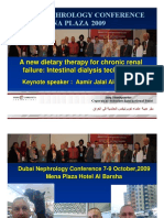 Intestinal Dialysis Technology -Dubai First International Nephrology Conference 7-9 October,2009